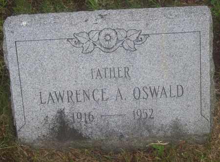 OSWALD, LAWRENCE A. - Luzerne County, Pennsylvania | LAWRENCE A. OSWALD - Pennsylvania Gravestone Photos