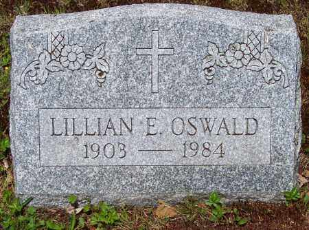 OSWALD, LILLIAN E. - Luzerne County, Pennsylvania | LILLIAN E. OSWALD - Pennsylvania Gravestone Photos