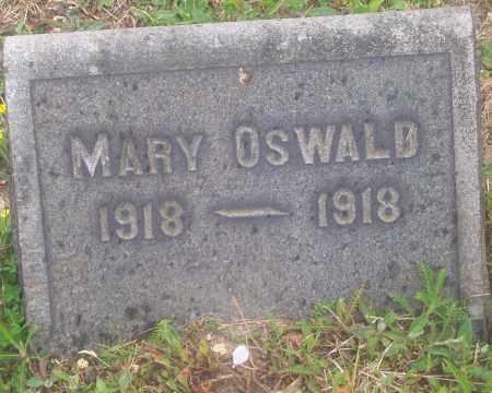 OSWALD, MARY - Luzerne County, Pennsylvania | MARY OSWALD - Pennsylvania Gravestone Photos
