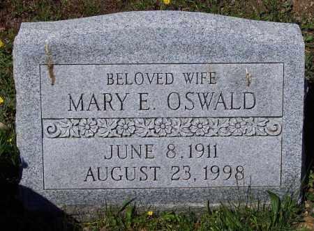 OSWALD, MARY E. - Luzerne County, Pennsylvania | MARY E. OSWALD - Pennsylvania Gravestone Photos
