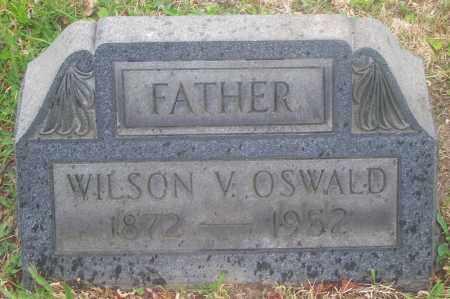 OSWALD, WILSON V. - Luzerne County, Pennsylvania   WILSON V. OSWALD - Pennsylvania Gravestone Photos