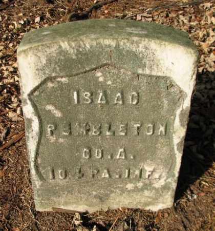 PEMBLETON (CW), ISAAC - Luzerne County, Pennsylvania | ISAAC PEMBLETON (CW) - Pennsylvania Gravestone Photos