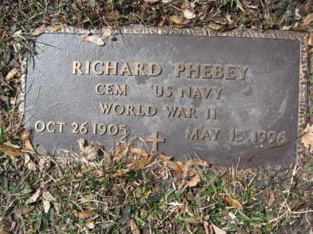 PHEBEY (WW II), RICHARD - Luzerne County, Pennsylvania | RICHARD PHEBEY (WW II) - Pennsylvania Gravestone Photos