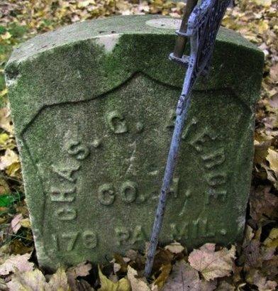 PIERCE (CW(, CHARLES J. - Luzerne County, Pennsylvania | CHARLES J. PIERCE (CW( - Pennsylvania Gravestone Photos