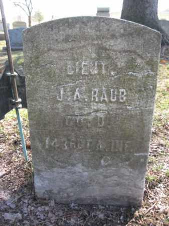 RAUB (CW), LT.JAMES A. - Luzerne County, Pennsylvania | LT.JAMES A. RAUB (CW) - Pennsylvania Gravestone Photos