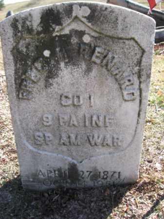 RENARD (SAW), FREDERICK M. - Luzerne County, Pennsylvania   FREDERICK M. RENARD (SAW) - Pennsylvania Gravestone Photos