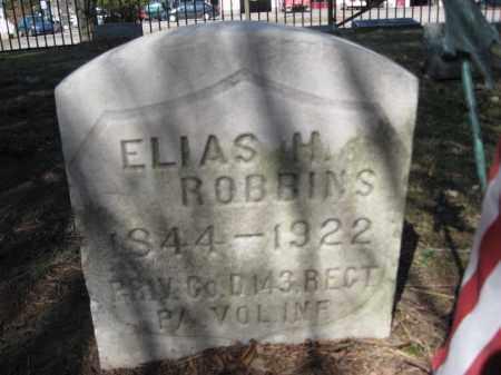 ROBBINS (CW), ELIAS H. - Luzerne County, Pennsylvania | ELIAS H. ROBBINS (CW) - Pennsylvania Gravestone Photos