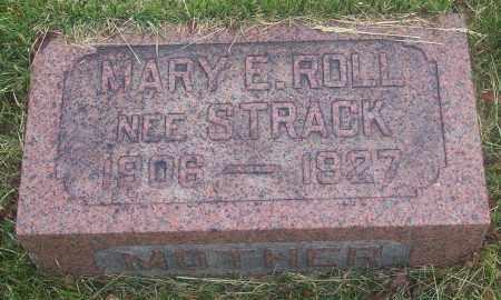 STRACK ROLL, MARY E. - Luzerne County, Pennsylvania | MARY E. STRACK ROLL - Pennsylvania Gravestone Photos
