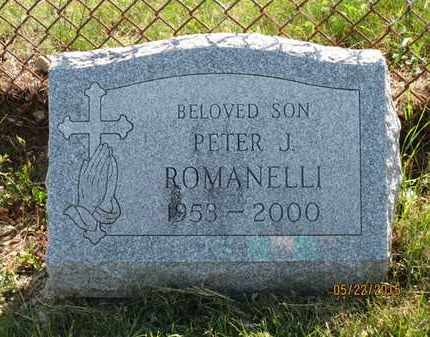ROMANELLI, PETER J. - Luzerne County, Pennsylvania   PETER J. ROMANELLI - Pennsylvania Gravestone Photos