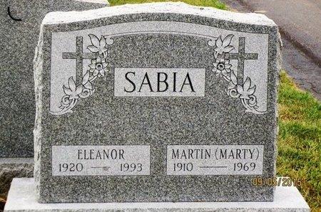 SABIA, MARTIN (MARTY) - Luzerne County, Pennsylvania   MARTIN (MARTY) SABIA - Pennsylvania Gravestone Photos