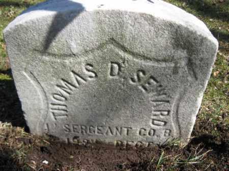 SEWARD  (CW), THOMAS D. - Luzerne County, Pennsylvania | THOMAS D. SEWARD  (CW) - Pennsylvania Gravestone Photos