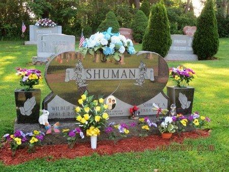 SHUMAN, WILBUR - Luzerne County, Pennsylvania | WILBUR SHUMAN - Pennsylvania Gravestone Photos