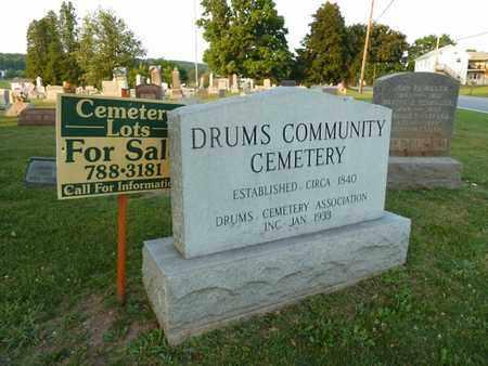 SIGN, CEMETERY - Luzerne County, Pennsylvania   CEMETERY SIGN - Pennsylvania Gravestone Photos