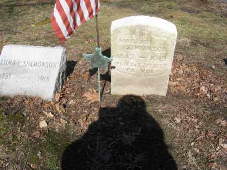 SIMONSON (CW), MORRIS - Luzerne County, Pennsylvania | MORRIS SIMONSON (CW) - Pennsylvania Gravestone Photos