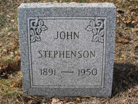 STEPHENSON, JOHN - Luzerne County, Pennsylvania   JOHN STEPHENSON - Pennsylvania Gravestone Photos