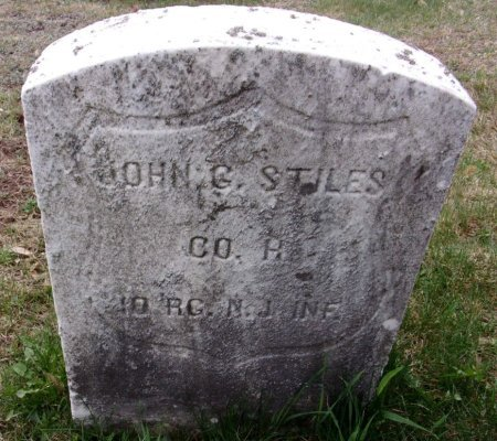 STILES, JR. (CW), JOHN G. - Luzerne County, Pennsylvania | JOHN G. STILES, JR. (CW) - Pennsylvania Gravestone Photos
