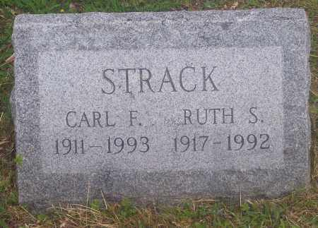 STRACK, CARL F. - Luzerne County, Pennsylvania | CARL F. STRACK - Pennsylvania Gravestone Photos