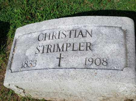 STRIMPLER, CHRISTIAN - Luzerne County, Pennsylvania | CHRISTIAN STRIMPLER - Pennsylvania Gravestone Photos