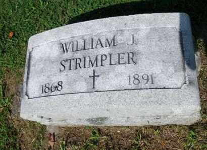 STRIMPLER, WILLIAM J. - Luzerne County, Pennsylvania   WILLIAM J. STRIMPLER - Pennsylvania Gravestone Photos