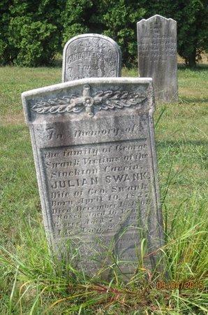 SWANK, JULIAN - Luzerne County, Pennsylvania | JULIAN SWANK - Pennsylvania Gravestone Photos