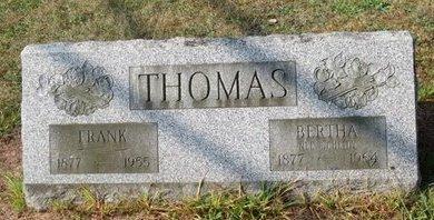 THOMAS, BERTHA - Luzerne County, Pennsylvania | BERTHA THOMAS - Pennsylvania Gravestone Photos