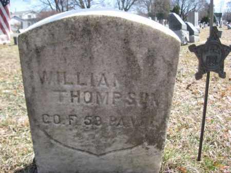 THOMPSON (CW), WILLIAM F. - Luzerne County, Pennsylvania | WILLIAM F. THOMPSON (CW) - Pennsylvania Gravestone Photos
