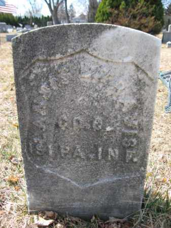 TRAVIS (CW), LANDES L. - Luzerne County, Pennsylvania   LANDES L. TRAVIS (CW) - Pennsylvania Gravestone Photos