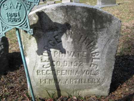 TRIMBLE (CW), GEORGE W. - Luzerne County, Pennsylvania | GEORGE W. TRIMBLE (CW) - Pennsylvania Gravestone Photos