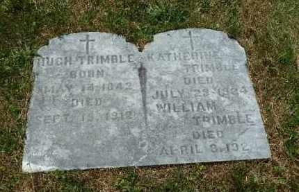 TRIMBLE, WILLIAM.. - Luzerne County, Pennsylvania | WILLIAM.. TRIMBLE - Pennsylvania Gravestone Photos