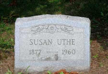 UTHE, SUSAN - Luzerne County, Pennsylvania | SUSAN UTHE - Pennsylvania Gravestone Photos