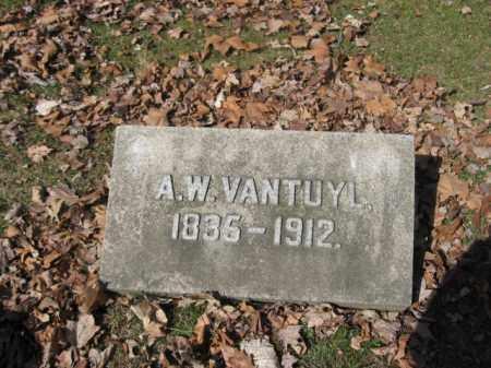 VANTUYL, A.W. - Luzerne County, Pennsylvania   A.W. VANTUYL - Pennsylvania Gravestone Photos