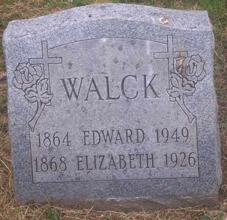 WALCK, EDWARD - Luzerne County, Pennsylvania | EDWARD WALCK - Pennsylvania Gravestone Photos