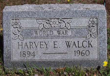 WALCK, HARVEY E. - Luzerne County, Pennsylvania | HARVEY E. WALCK - Pennsylvania Gravestone Photos