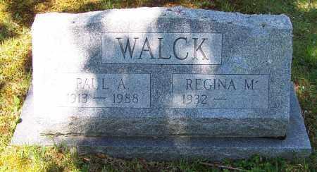 WALCK, PAUL A. - Luzerne County, Pennsylvania   PAUL A. WALCK - Pennsylvania Gravestone Photos