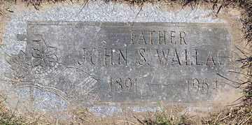 WALLACE, JOHN S. - Luzerne County, Pennsylvania | JOHN S. WALLACE - Pennsylvania Gravestone Photos