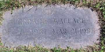 PITKEVICH WALLACE, LORRAINE - Luzerne County, Pennsylvania | LORRAINE PITKEVICH WALLACE - Pennsylvania Gravestone Photos