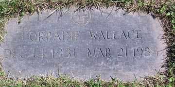 WALLACE, LORRAINE - Luzerne County, Pennsylvania | LORRAINE WALLACE - Pennsylvania Gravestone Photos