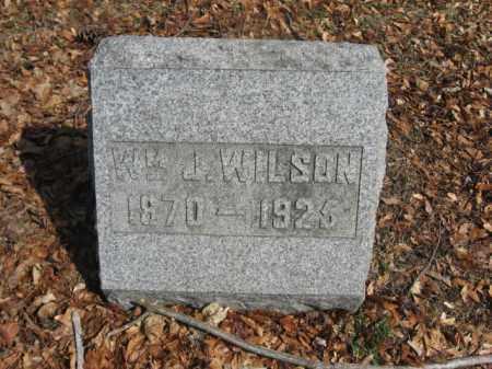 WILSON, WILLIAM J. - Luzerne County, Pennsylvania   WILLIAM J. WILSON - Pennsylvania Gravestone Photos