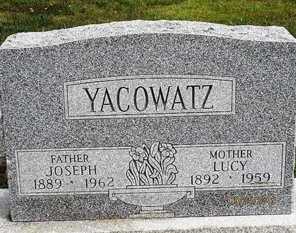 YACOWATZ, JOSEPH - Luzerne County, Pennsylvania | JOSEPH YACOWATZ - Pennsylvania Gravestone Photos