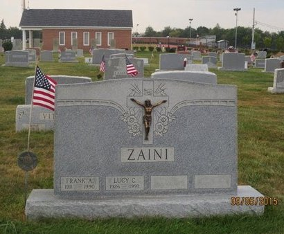 ZAINI, LUCY C - Luzerne County, Pennsylvania | LUCY C ZAINI - Pennsylvania Gravestone Photos