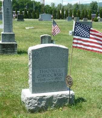 ZDRODOWSKI, THADDEUS - Luzerne County, Pennsylvania   THADDEUS ZDRODOWSKI - Pennsylvania Gravestone Photos