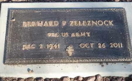 ZELEZNOCK, BERNARD P. - Luzerne County, Pennsylvania   BERNARD P. ZELEZNOCK - Pennsylvania Gravestone Photos