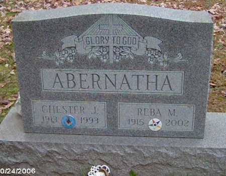 ABERNATHA, CHESTER - Lycoming County, Pennsylvania | CHESTER ABERNATHA - Pennsylvania Gravestone Photos