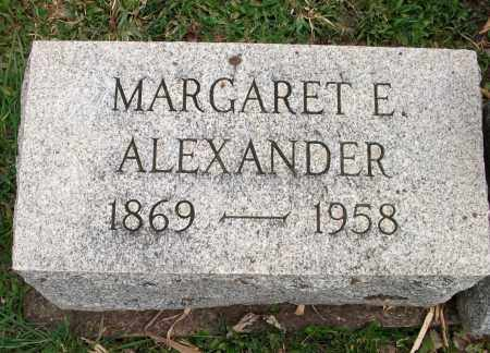 ALEXANDER, MARGARET ELNORA - Lycoming County, Pennsylvania | MARGARET ELNORA ALEXANDER - Pennsylvania Gravestone Photos