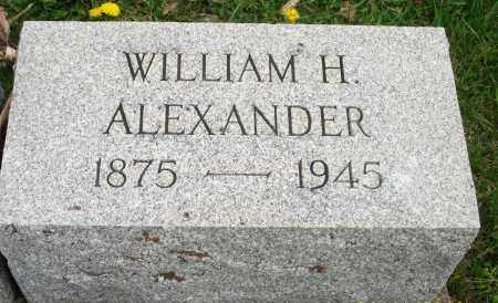 ALEXANDER, WILLIAM HENRY - Lycoming County, Pennsylvania | WILLIAM HENRY ALEXANDER - Pennsylvania Gravestone Photos