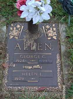 ALLEN, GEORGE - Lycoming County, Pennsylvania | GEORGE ALLEN - Pennsylvania Gravestone Photos
