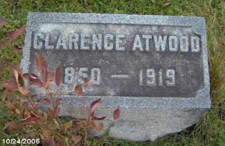 ATWWOD, CLARENCE - Lycoming County, Pennsylvania   CLARENCE ATWWOD - Pennsylvania Gravestone Photos