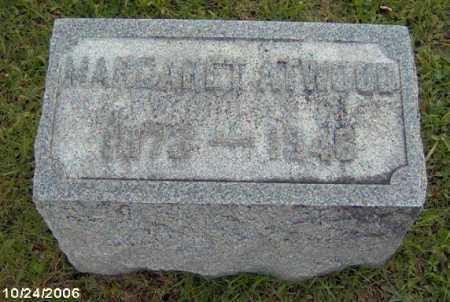 HENSLER ATWWOD, MARGARET - Lycoming County, Pennsylvania | MARGARET HENSLER ATWWOD - Pennsylvania Gravestone Photos