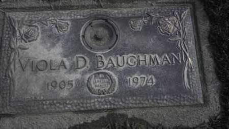 BROWN BAUGHMAN, VIOLA - Lycoming County, Pennsylvania | VIOLA BROWN BAUGHMAN - Pennsylvania Gravestone Photos