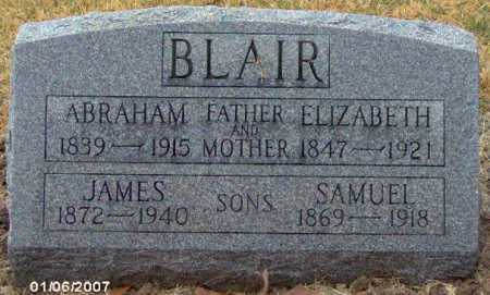 BLAIR, SAMUEL - Lycoming County, Pennsylvania | SAMUEL BLAIR - Pennsylvania Gravestone Photos